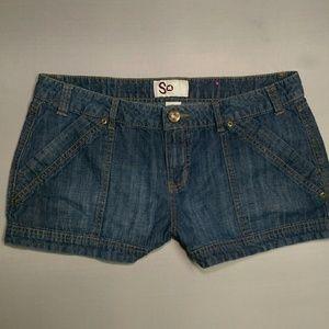 So Size 13 Denim Jean Shorts #AD